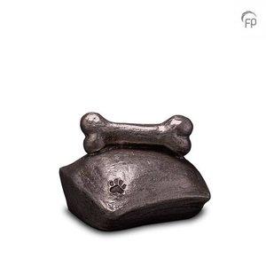 Geert Kunen  UGKS 202 Keramische dierenurn zilver