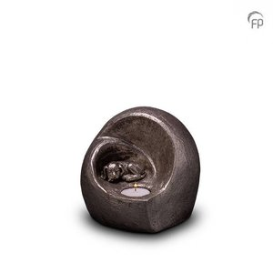 Geert Kunen  UGKS 216 Urna de mascota de cerámica plata