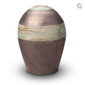 Pottery Bonny KU 304 Keramikurne metallic