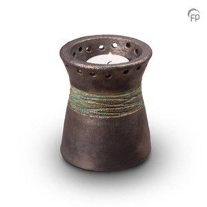 Pottery Bonny KU 304 K Keramische kaarshouder metallic