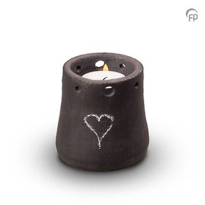 Pottery Bonny KU 305 K Ceramic candle holder My Feelings