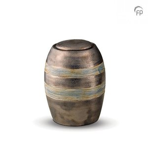 Pottery Bonny KU 306 M Ceramic medium urn metallic