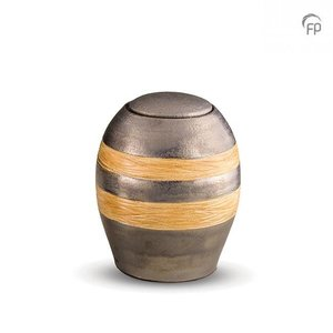 Pottery Bonny KU 307 M Ceramic medium urn metallic