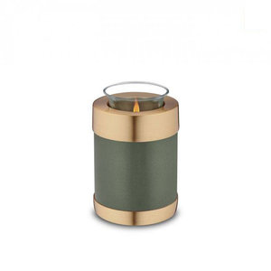 CHK 108 Brass candle holder