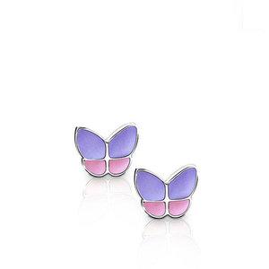 EBF 001 Oorbellen Butterfly