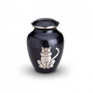 HU 191 M Brass pet urn medium