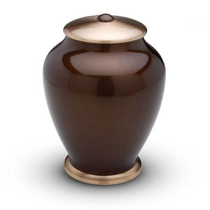 HU 403 Messing urn Simplicity