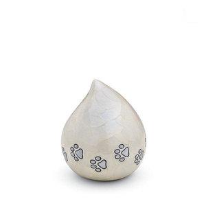 HU 635 Brass pet urn Love Drop