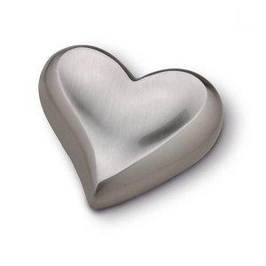 HUH 027 Messing Mini-Urne Herz