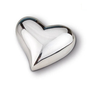 HUH 022 S Brass keepsake heart