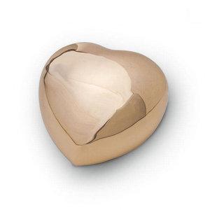 HUH 008 relicario de latón corazón