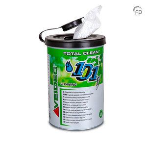 Veidec Total Clean Universele doekjes voor schoonmaak en verzorging