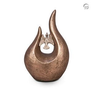 FPU 054 Urna de cerámica de arte Fuego