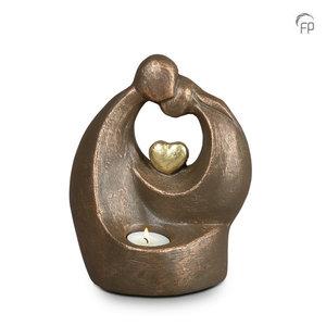 Geert Kunen  UGK 045 BT Ceramic urn bronze