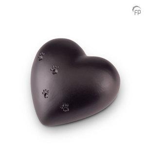 Mastaba Ceramika KU 151 L Urna de mascota de cerámica corazón grande