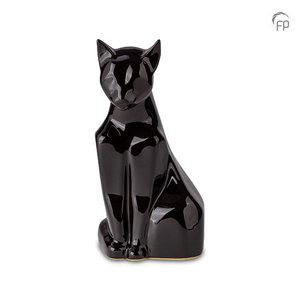 Mastaba Ceramika KU 163 Keramik Tierurne Katze glänzend