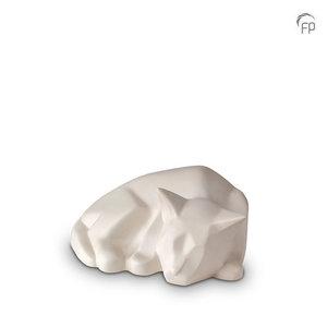 Mastaba Ceramika KU 166 Ceramic pet urn Cat matt