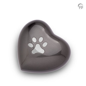 HUH 011 M Metal pet urn heart medium