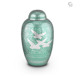 HU 139 Metaal urn