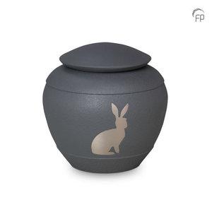 Terrybear HU 289 Metal pet urn silhouette rabbit