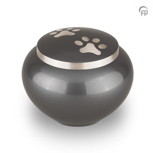 AU 101 L Metal pet urn large