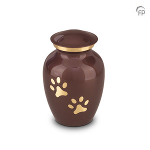 HU 197 M Metal pet urn medium