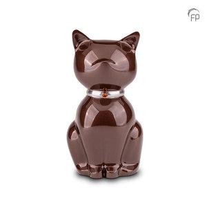 FPU 208 Metal pet urn Nuna brown