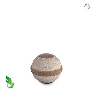 GreenLeave BU 304 S Urna pequeña de biodegradable Cuarzo