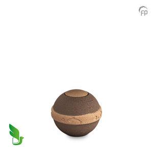 GreenLeave BU 303 S Urna pequeña de biodegradable Geos
