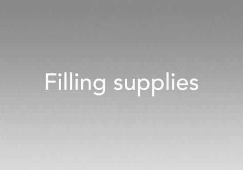Filling supplies