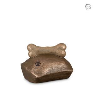 Geert Kunen  UGK 202 Keramische dierenurn brons