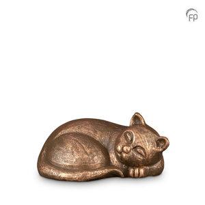 Geert Kunen  UGK 210 Keramische dierenurn brons