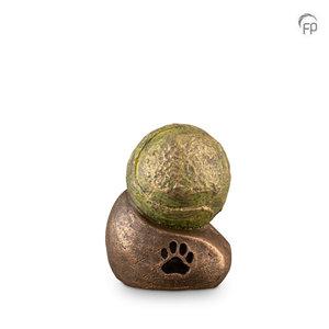 Geert Kunen  UGK219Keramische dierenurn brons