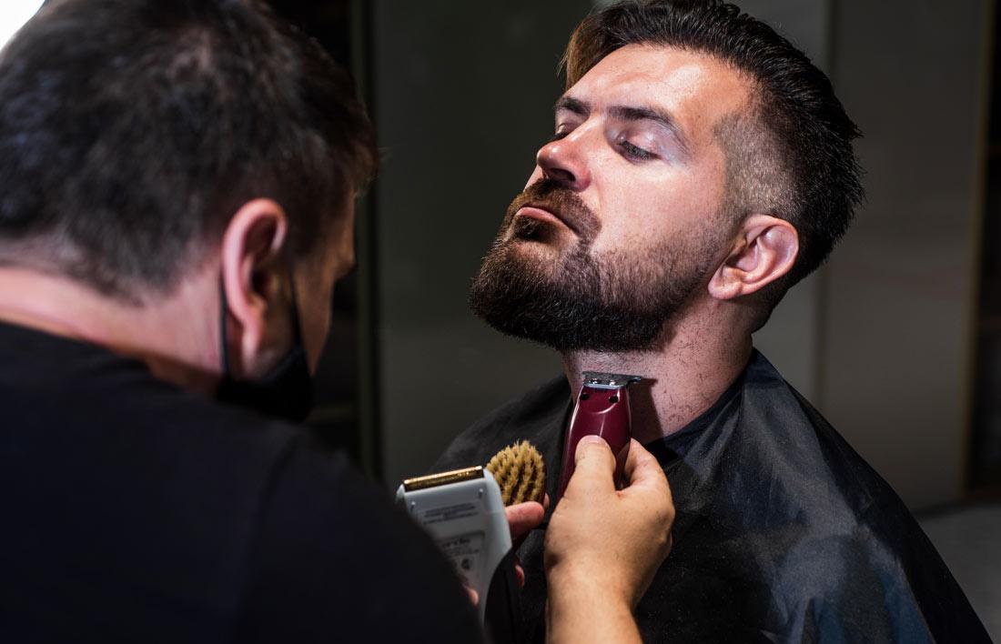 hoe trim je een baard