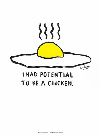 Potential to be a chicken