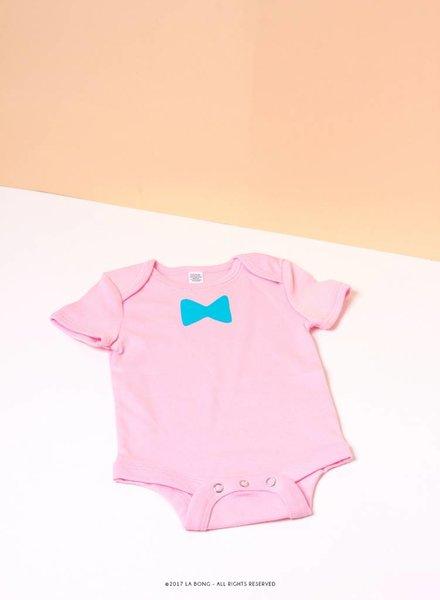 Blue bowtie
