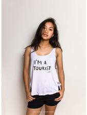I'm a tourist singlet