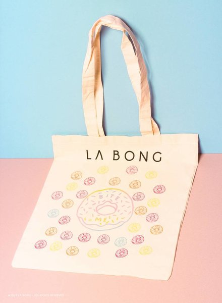 Donut canvas tote