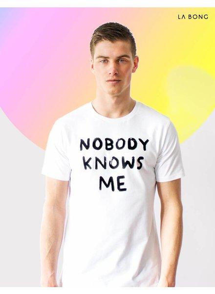 NOBODY KNOWS ME YET - WHITE