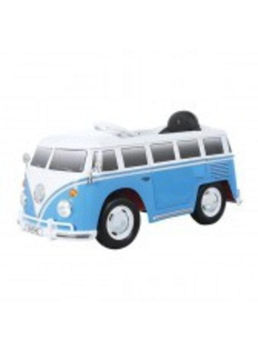ACCU-AUTO VW BUS Blauw Met Afstandsbediening 12V