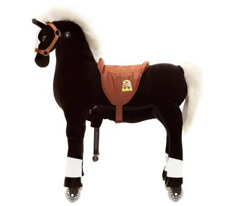 Animal Riding Paard Maharaja Small Zwart
