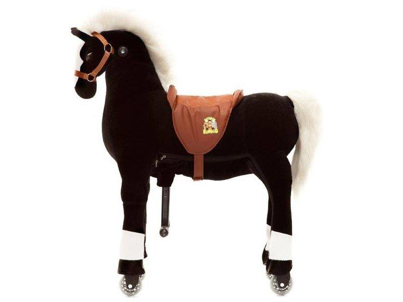 Animal Riding Paard Maharaja X-Large Zwart