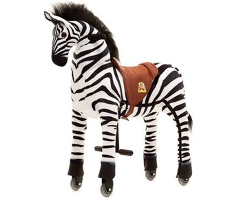 Animal Riding Zebra Marthi X-Large