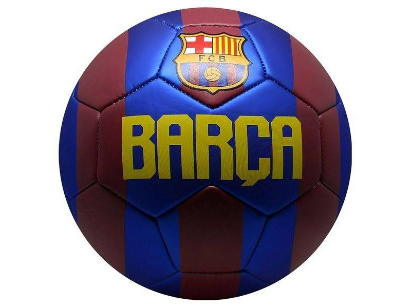 Barcelona voetbal Metallic