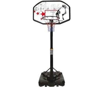 Nijdam Basketbalpaal New port+ champion gratis bal
