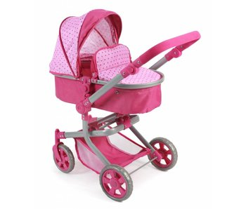 Bayer Chic Poppenwagen Mika combi roze