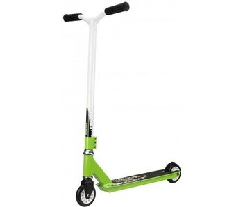 Black Dragon Stuntstep Scooter Zwart Groen Wit