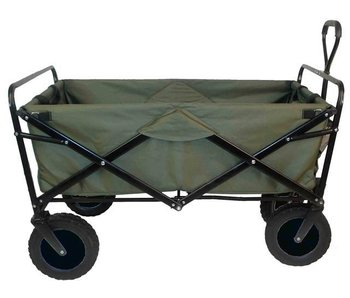 Bolderwagen opvouwbaar groen