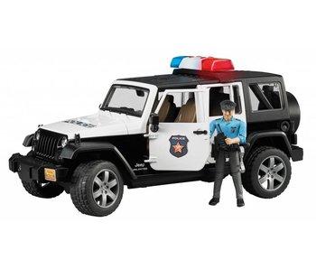 Bruder 2526 - Jeep Wrangler Unlimited Rubicon politieauto met politieman 1:16