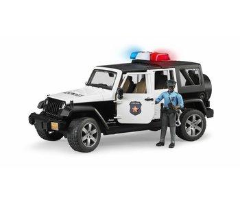 Bruder 2527 - Jeep Wrangler Politieauto + speelfiguur